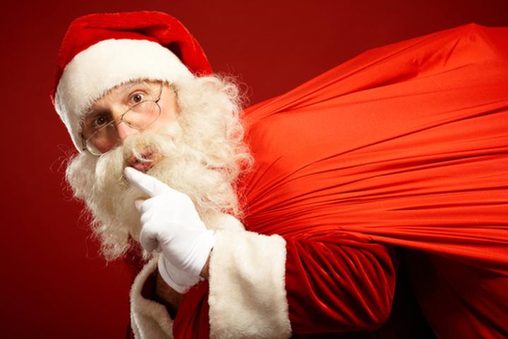 乗船者全員にブランケットのクリスマスプレゼント!