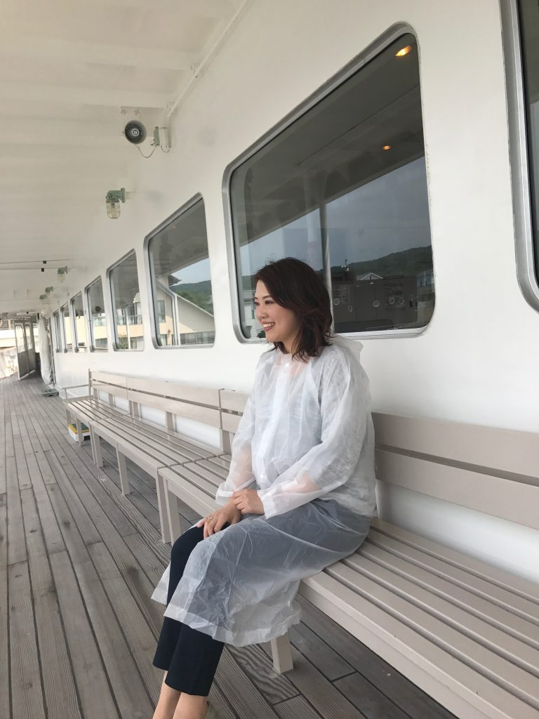 雨の日は乗船者にレインコートプレゼント【通年】