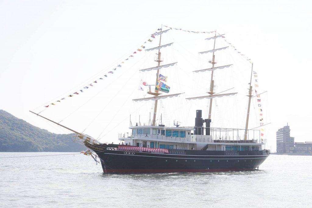 うずしおクルーズに新造船「咸臨丸」が就航!